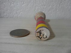 Niiyama Yoshiki 新山吉紀 (1960- ), Master Niiyama Kichitaro, about 9 cm stick, Yajiro, signature