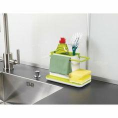 Pojemnik na akcesoria do zmywania Joseph&Joseph. Uporządkuje i zorganizuje miejsce przy zlewie.