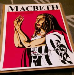 Vintage 1973 MacBeth - Act V, sc i - 22 x 17 Poster - Shakespeare -Perfection Fo