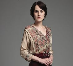 "Lovely blouse worn by Lady Mary (appeared previously as worn by Emma Thompson in the film ""Howard's End"")."