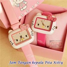 Jam Tangan Pita Timbul Hello Kitty Jam Tangan Pita Timbul Hello Kitty - Jam Tangan Hello Kitty - Jam Kotak Hello Kitty : Sebuah Jam Tangan bentuk kepala Hello kitty Pita timbul , lengkapi Koleksi hello Kitty anda dengan produk Aksesoris jam yg satu ini.