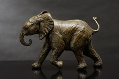 Bruce Little sculpts to capture the spirit of the wild African creatures he has observed and guarded for most of his life. Self taught, instinctual, the artist's technique captures the essential movement and attitudes of his subjects. Bronze Sculpture, Lion Sculpture, Sculpting, Creatures, African, Statue, Elephants, Artist, Sculpture