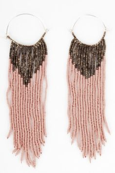 ~beaded earrings~