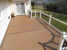two tone deck