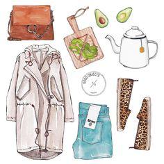 "Good Objects Illustration auf Instagram: ""Good objects - Waiting for spring........ ☁️ #goodobjects #illustration"""