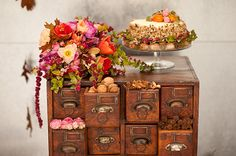 Colorful, earthy fall wedding inspiration