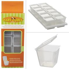 Baby Cubes: I know what you're thinking — these Baby Cubes ($7 for 10) are meant for storing homemade baby food. But because they're one-ounce containers, they're perfect for storing small portions of dry snacks like nuts, seeds, or dried fruit. They're lightweight and BPA-free, and the lids are attached so you don't have to worry about losing them. Stash a cube in your desk drawer, purse, or gym bag.