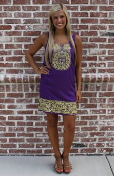 LSU Game Days 2012 cute gameday outfits | iTweenFashion.com