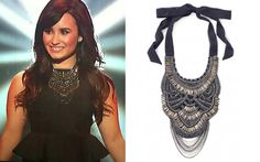 Celebrity Faves Stella & Dot- Demi Lovato Bib Necklace http://www.stelladot.com/kelleybardwell