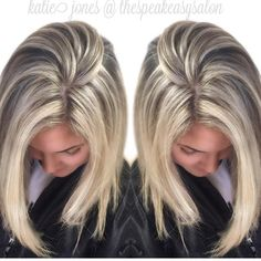Pin by Amy Carlson on Hair cuts in 2019 Hair Color And Cut, Cut My Hair, Cool Hair Color, Hair Cuts, Blonde Hair Looks, Blonde Hair With Highlights, Brown Blonde Hair, Pinterest Hair, Great Hair
