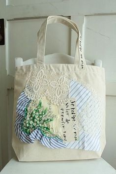 lovely textile bag from japan