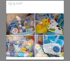 gift baskets for twin boy & girl xox