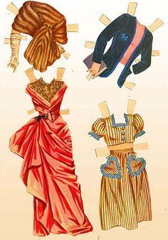 1950 June Allyson paper doll clothes #13 / eBay