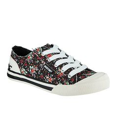 Look at this Black Ditz Jazzin' Sneaker on #zulily today!