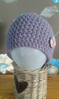 Crochet Basic Hat by WaveSideCreations on Etsy