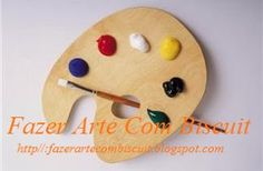 Fazer Arte Com Biscuit: Dicas de Tintas Para Usar no Biscuit