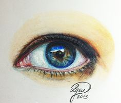 My eye copic marker drawing eye Olga Dvoryanskaya Copic Marker Drawings, Copic Markers, My Drawings, Realistic Face Drawing, Drawing Eyes, Colouring Techniques, Painting Techniques, Art Gallery Wedding, Toddler Art Projects