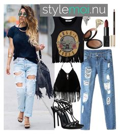"""""""Stylemoi 1."""" by marijaprusina ❤ liked on Polyvore featuring Dsquared2, MAKE UP FOR EVER, Yves Saint Laurent, NARS Cosmetics and stylemoi"""