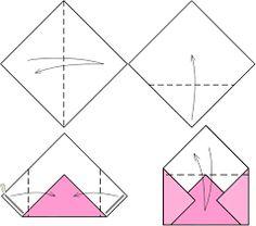 Картинки по запросу объемный конверт из бумаги своими руками
