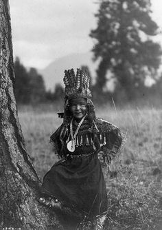 Salish Childhood  Curtis, Edward. Copyright 1910. Prints and Photographs Division,  Library of Congress