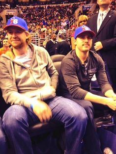 Jake at Sixers game
