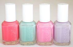 spring essie nail polishes
