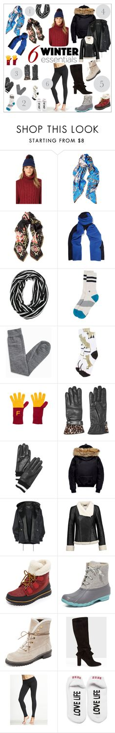 """""""6 Must Have Items for Winter Travel"""" by bonnielindsay on Polyvore featuring Inverni, Roberto Cavalli, Magaschoni, Stance, Isabel Marant, Wildfox, AGNELLE, Kate Spade, Puma and Balmain"""