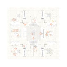 Josep Ferrando se suma al proyecto ochoquebradas con el diseño de una casa y hotel de madera,Planta habitar