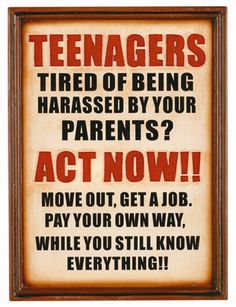 Pub Sign Teenagers