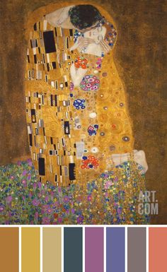 Color Inspiration | The Kiss by Klimt | Flickr - Photo Sharing!