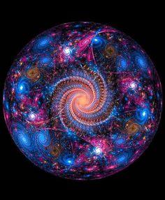 Gaia, The Earth Mother by laurengary on DeviantArt Fractal Design, Fractal Art, Fractal Images, Gaia, Doreen Virtue, Spiritual Awakening, Sacred Geometry, Swirls, Psychedelic