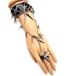 Bring out your wild side with this funky bracelet. This head turning spike bracelet will showcase your trendsetting skills. $14.99