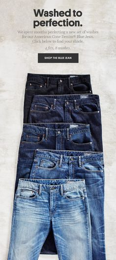 Bonobos: Our denim has brand new washes | Milled