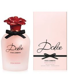 DOLCE&GABBANA Dolce ROSA EXCELSA Eau De Parfum, 1.7 oz $94.00 The new Dolce ROSA EXCELSA Eau De Parfum captures the boldness and pure spirit of the rose with the essence of fresh petals in bloom. The precious heart of Dolce ROSA EXCELSA seduces with two delicate and noble Rose notes. Used for the first time in perfumery, the African Dog Rose premieres in this exquisite fragrance creation. This rare note is combined with the enveloping femininity of the Turkish Rose Absolute, highly-prized in…