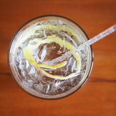 Elderflower gin cordial
