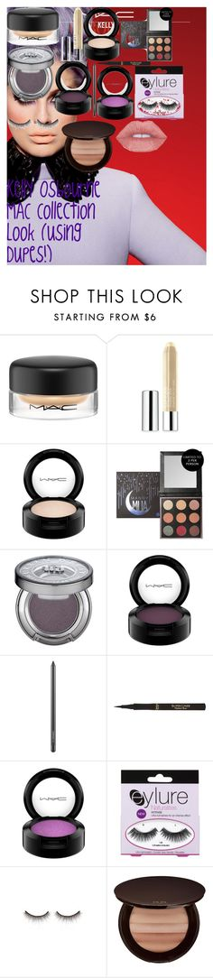 Kelly Osbourne MAC Collection Look (using Dupes!) by oroartye-1 on Polyvore featuring beauty, PUR, MAC Cosmetics, Urban Decay, shu uemura, Clinique, L'Oréal Paris and eylure