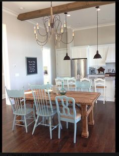 Just click the link for more informationdinner table decorations everyday Click … – Toptrendpin Agreeable Gray, Farmhouse Style Bedrooms, Favorite Paint Colors, White Bedroom Furniture, Minimalist Room, Painted Chairs, House Colors, Wall Colors, Home Remodeling