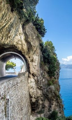 Driving south from Sorrento to Salerno, while channeling your inner Marcello Mastroianni.