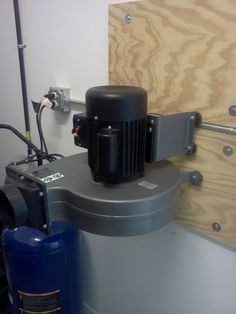 HohenfelsJoe Happenings: Shop Dust Collector - Harbor Freight 2HP Collector