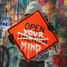 Artist: Mr Brainwash #streetart