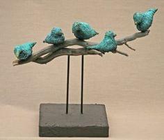 Galerie - Josefine-Art - New Ideas For Dinner Clay Birds, Ceramic Birds, Ceramic Animals, Ceramic Art, Clay Art Projects, Ceramics Projects, Clay Crafts, Hand Built Pottery, Slab Pottery