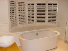 Photos of plantation shutters that Newbury Shutters has installed in the Berkshire, Hampshire, Oxfordshire and Buckinghamshire area. Buckinghamshire, Windows, Interior Shutters, Newbury, Window Dressings, Bay Window, Blinds, Interior Design, Shutters