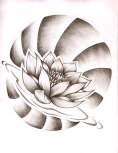 flor de lotus tattoo - Pesquisa Google
