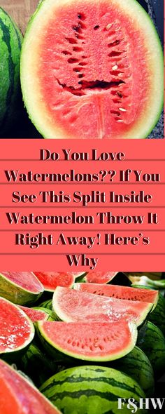 #watermelon #split #precaution #health #summer #fruit