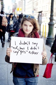 """""""Project Unbreakable"""" is very powerful. This photographer makes images of rape survivors displaying quotes of their attacker in public places.....this hits WAY TOO CLOSE TO HOME FOR ME"""