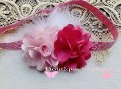 Pink FLuffy Giraffe Headband by BoutiqueSisters on Etsy, $6.50