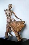 Germany, 16th Century - Automaton representing Death riding a lion, 1513 at Bayerisches Nationalmuseum München