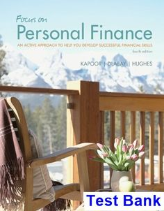 Financial management principles and applications 12th edition titman test bank for focus on personal finance an active approach to help you develop successful financial fandeluxe Gallery