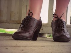 old-fashioned shoes