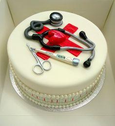 Purppurahelmen juhla- ja  fantasiakakut: Hoitajalle/ opettajalle  40v kakku sydämellä. Cake Decorations, Birthday Cake, Desserts, Food, Tailgate Desserts, Deserts, Birthday Cakes, Essen, Postres